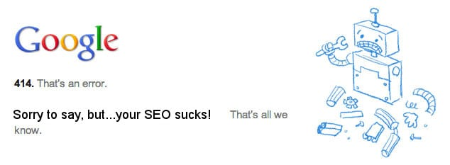 How to do SEO – Badly!